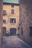 pienza tuscany Royaltyfri Bild