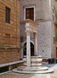 Pienza in Tuscany in Italy Royalty Free Stock Photos