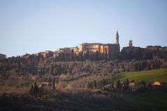 Pienza in Val d'Orcia. Tuscany, Italy Stock Photo