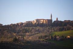 Pienza in Val d'Orcia. Tuscany, Italy Stock Photo