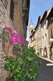 Pienza w Tuscany obrazy stock