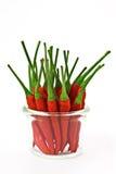 pieprz czerwone chili Fotografia Stock