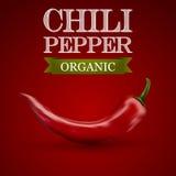 pieprz czerwone gorące chili Obraz Stock