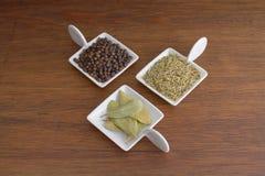 Pieprz, rozmaryny i zatoka, Fotografia Stock