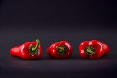 pieprzone czerwone Ajvar Zdjęcie Royalty Free
