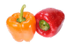 pieprzowa pomarańcze czerwień Obraz Stock