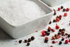 pieprzowa sól zdjęcie stock