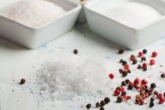 pieprzowa sól obrazy stock