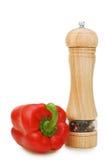 pieprzowe czerwone pikantność Obrazy Royalty Free