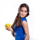 pieprzowy dziewczyna cukierki fotografia royalty free
