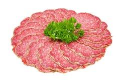 Pieprzowy salami Obraz Stock