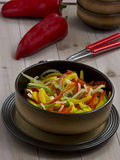 pieprzowy surowy jarski jedzenie zdjęcie royalty free