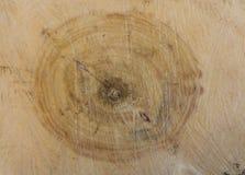 Pierścionki na rżniętej powierzchni drzewo abstrakcja wzór obrazy royalty free