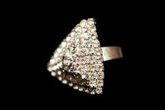 pierścień, diamenty Zdjęcie Royalty Free
