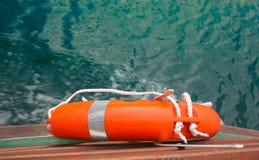 pierścień lifebuoy Zdjęcia Royalty Free