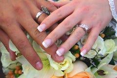 pierścień na ślub obraz royalty free