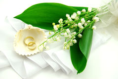 pierścień na ślub Obrazy Royalty Free