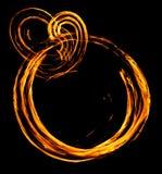 pierścień ognia Zdjęcie Stock
