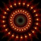 pierścień ognia Fotografia Royalty Free