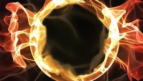 pierścień ognia royalty ilustracja