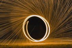 pierścień ognia Obraz Royalty Free