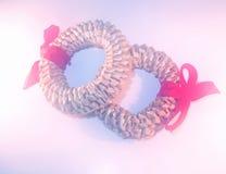 pierścienie miłości. Obraz Royalty Free