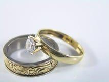 pierścienie miłości. Fotografia Stock