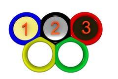 pierścienie olimpijskich ilustracji