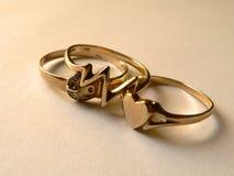 pierścienie przyjaźni Obrazy Stock