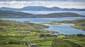 Pierścionek Kerry krajobraz Obrazy Royalty Free