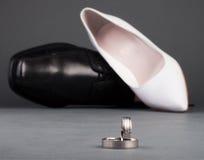 pierścionek kuje ślub Obrazy Royalty Free