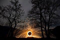 Pierścionek ogień Fotografia Stock