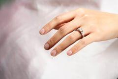 pierścionek z diamentem zdjęcie stock