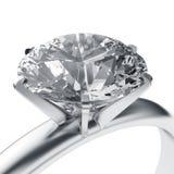 pierścionek z diamentem royalty ilustracja