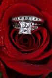 pierścionek zaręczynowy fotografia royalty free