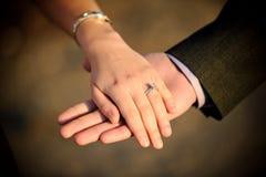 pierścionek zaręczynowy Obrazy Stock
