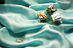 pierścionek zaręczynowy Obraz Royalty Free
