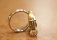 pierścionków target134_1_ Fotografia Royalty Free