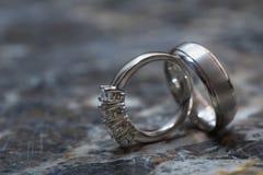 pierścionków target1761_1_ Zdjęcie Stock