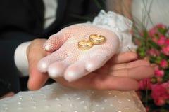 pierścionków target1763_1_ Fotografia Royalty Free