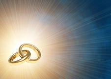 pierścionków target1848_1_ Zdjęcie Royalty Free