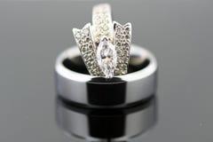 pierścionków target264_1_ zdjęcie stock
