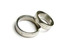 pierścionków target623_1_ Fotografia Royalty Free