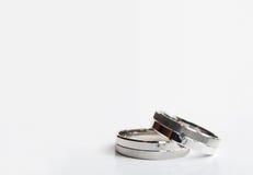 pierścionków target856_1_ Zdjęcia Royalty Free