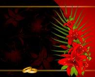 pierścionki target1008_1_ dwa Obrazy Royalty Free
