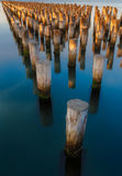 Pier,墨尔本,澳大利亚王子 库存图片