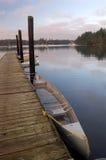 pier łodzi Zdjęcia Royalty Free