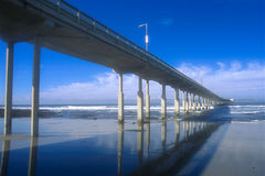 Pier 01. Ocean Beach Pier,San Diego,California,USA stock image
