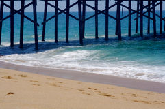 Pier. The Balboa pier in Newport Beach, California Stock Photography