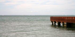 Pier lizenzfreies stockbild